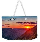 Almost Heaven - West Virginia Weekender Tote Bag