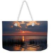 Almost Sunset In Florida Weekender Tote Bag