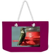 Almost Time To Fly To South America Weekender Tote Bag