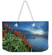 Aloe Vera Bloom Weekender Tote Bag