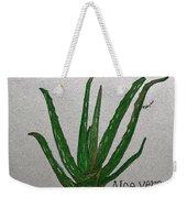 Aloe Vera Weekender Tote Bag
