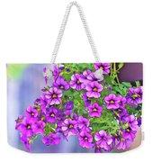 Aloha Purple Sky Calibrachoa Abstract I Weekender Tote Bag
