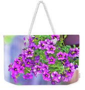 Aloha Purple Sky Calibrachoa Abstract I Weekender Tote Bag