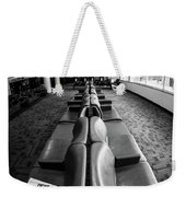 Alone At The Airline Gate Weekender Tote Bag