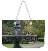 Alone In The Fountain Weekender Tote Bag