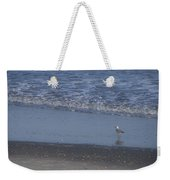 Alone In The Sand Weekender Tote Bag