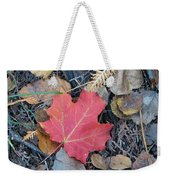 Alone In The Woods Weekender Tote Bag