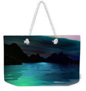 Alone On The Beach Weekender Tote Bag
