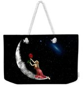 Alone On The Clouds Weekender Tote Bag