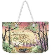 Alone On The Water Weekender Tote Bag