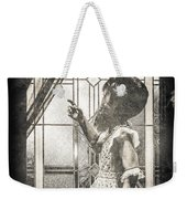 Along Came A Spider Weekender Tote Bag by Bob Orsillo
