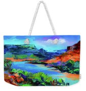 Along Colorado River - Utah Weekender Tote Bag