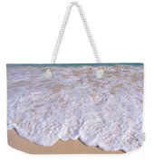 Along Shoreline Weekender Tote Bag