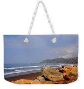Along The Californian Coast Weekender Tote Bag