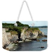 Along The Cliff Walk Trail Weekender Tote Bag