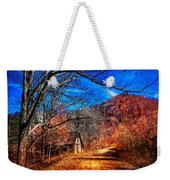 Along The Country Lane Weekender Tote Bag