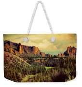 Along The Crooked River Weekender Tote Bag