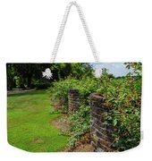 Along The Curved Wall Weekender Tote Bag
