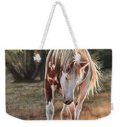 Along The Dusty Trail Weekender Tote Bag