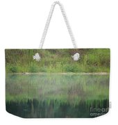 Along The Edge Of The Pond Weekender Tote Bag
