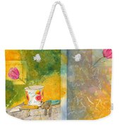 Along The Garden Wall Weekender Tote Bag