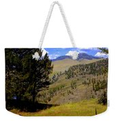 Along The Hell Roaring Creek Trail Weekender Tote Bag