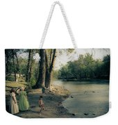 Along The Mississinewa River Weekender Tote Bag