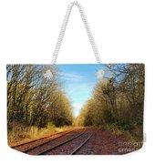 Along The Old Railroad  Weekender Tote Bag