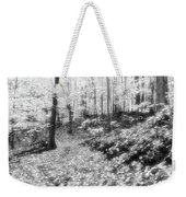 Along The Path Bw  Weekender Tote Bag