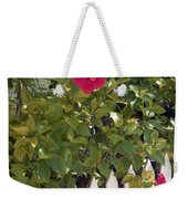 Along The Picket Fence Weekender Tote Bag