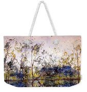 Along The River Bank Weekender Tote Bag