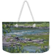 Along The River Weekender Tote Bag