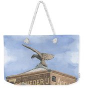 Along The River Zaan Zeepziederij De Adelaar Weekender Tote Bag