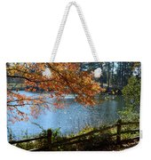 Along The Road Weekender Tote Bag