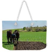 Along The Row  Weekender Tote Bag