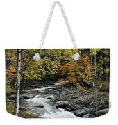 Along The Rural Road Weekender Tote Bag