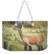 Alpaca Glory Weekender Tote Bag