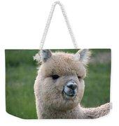 Alpaca Smile Weekender Tote Bag