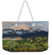 San Juan Mountains Fall Colors Sunrise Weekender Tote Bag