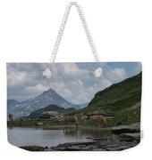 Alps' Horses Weekender Tote Bag