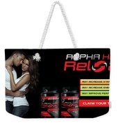 Alpha Hard Reload Weekender Tote Bag