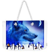 Alpha Male Weekender Tote Bag