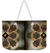 Alpha Waves - Gently Cross Your Eyes And Focus On The Middle Image Weekender Tote Bag