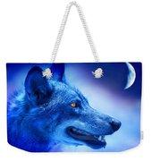 Alpha Wolf Weekender Tote Bag