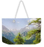 Alpine Altitude Weekender Tote Bag by Jeff Kolker