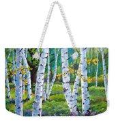 Alpine Flowers And Birches  Weekender Tote Bag