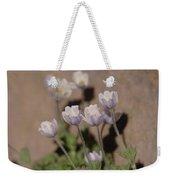 Alpine Flowers Weekender Tote Bag