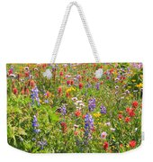 Alpine Glory In Canada Weekender Tote Bag