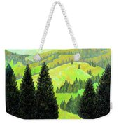 Alpine Hills Weekender Tote Bag