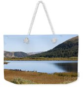 Alpine Lake In The Arapahoe National Forest Weekender Tote Bag